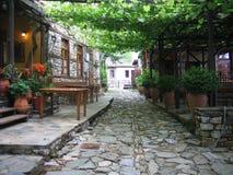 Ciudad vieja en Olimpus Foto de archivo libre de regalías