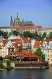 Ciudad vieja en Praga Fotografía de archivo