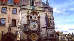 Ciudad vieja en Praga Foto de archivo