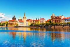 Ciudad vieja en Praga, República Checa imagenes de archivo