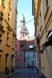 Ciudad vieja en Riga Fotografía de archivo libre de regalías