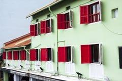 Ciudad vieja en Singapur Foto de archivo