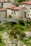 Ciudad vieja en Toscana, Italia Imagen de archivo