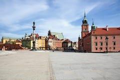 Ciudad vieja en Varsovia. Fotos de archivo