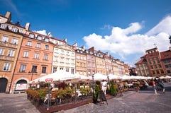 Ciudad vieja en Varsovia Imagen de archivo libre de regalías