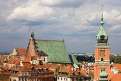 Ciudad vieja en Varsovia Imagen de archivo