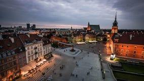 Ciudad vieja en Varsovia metrajes