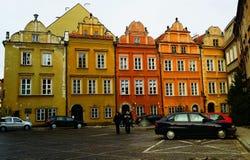 Ciudad vieja en Varsovia Foto de archivo libre de regalías