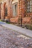 Ciudad vieja en Vyborg Fotografía de archivo libre de regalías
