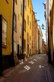 Ciudad vieja, Estocolmo Foto de archivo libre de regalías
