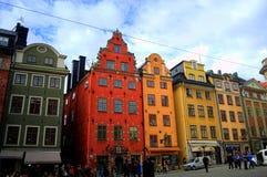 Ciudad vieja Estocolmo Imagenes de archivo