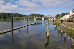 Ciudad vieja, Florencia, Oregon imagenes de archivo
