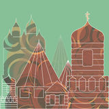 Ciudad vieja Fondo del edificio Ilustración Ilustración del Vector