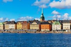 Ciudad vieja (Gamla Stan) en Estocolmo, Suecia Imágenes de archivo libres de regalías