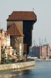 Ciudad vieja Gdansk/Polonia Fotos de archivo libres de regalías