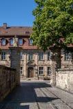 Ciudad vieja histórica de Bayreuth Imágenes de archivo libres de regalías