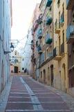 Ciudad vieja histórica de Tarragona imagen de archivo libre de regalías