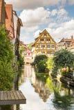 Ciudad vieja histórica de Ulm Foto de archivo