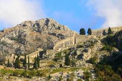 Ciudad vieja Kotor Fotografía de archivo