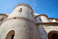 Ciudad vieja Krk, mediterráneo, Croacia, Europa Imágenes de archivo libres de regalías