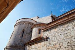 Ciudad vieja Krk, mediterráneo, Croacia, Europa Foto de archivo libre de regalías