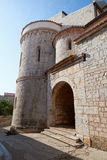 Ciudad vieja Krk, mediterráneo, Croacia, Europa Fotografía de archivo libre de regalías