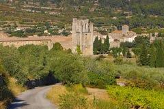 Ciudad vieja Lagrasse Imagen de archivo