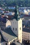 Ciudad vieja Lviv, Ucrania Imagen de archivo libre de regalías