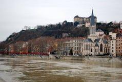 Ciudad vieja, Lyon, Francia Imágenes de archivo libres de regalías