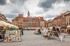 Ciudad vieja Market Place Foto de archivo