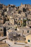 Ciudad vieja Matera Basilicata Apulia o Puglia Italia fotografía de archivo libre de regalías