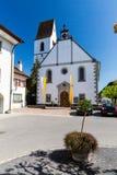 Ciudad vieja Mellingen en Suiza foto de archivo