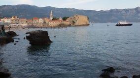 Ciudad vieja Montenegro de Budva Imagen de archivo libre de regalías