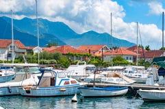 Ciudad vieja Montenegro de Kotor Imagen de archivo