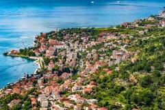 Ciudad vieja Montenegro de Kotor Foto de archivo libre de regalías