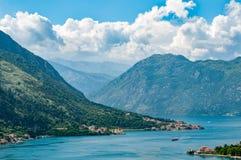 Ciudad vieja Montenegro de Kotor Imágenes de archivo libres de regalías