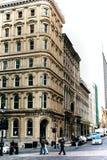 Ciudad vieja Montreal en Quebec, Canadá fotografía de archivo libre de regalías