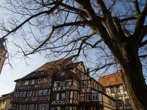Ciudad vieja Mosbach foto de archivo