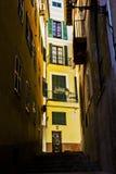 Ciudad vieja Palma de Mallorca fotografía de archivo libre de regalías