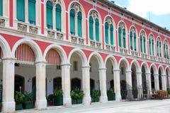 Ciudad vieja partida, Croacia foto de archivo