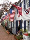 Ciudad vieja patriótica Alexandria Virginia Fotografía de archivo libre de regalías