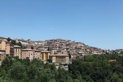 Ciudad vieja Perugia Imagen de archivo
