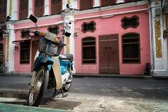Ciudad vieja Phuket, Tailandia Imágenes de archivo libres de regalías