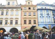 Ciudad vieja, Praga, 2017 Imagen de archivo