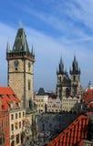 Ciudad vieja, Praga imágenes de archivo libres de regalías