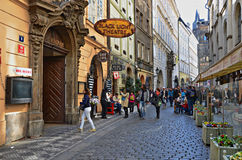 Ciudad vieja, Praga Imagenes de archivo
