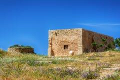 Ciudad vieja Rethimno, Creta Grecia Fotos de archivo