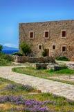 Ciudad vieja Rethimno, Creta Grecia Fotografía de archivo