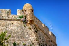 Ciudad vieja Rethimno, Creta Grecia Imagen de archivo libre de regalías