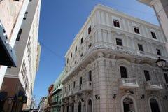 Ciudad vieja, San Juan Imágenes de archivo libres de regalías